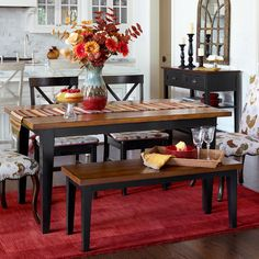 Traditional yet practical, the Carmichael Bench adapts to a variety of looks.