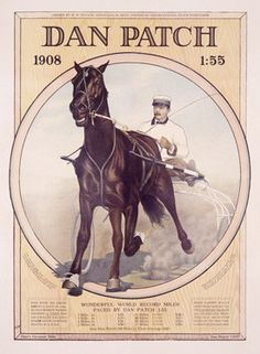 Dan Patch Horse Harness Racing Fine Art Print