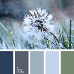color palette №871 pastel shades of blue and blue , color matching, gray-blue, dull olive green, cool palette of green and blue, the color of missed grass, the color scheme for the design, color combinations / cvetovaya-palitra-871