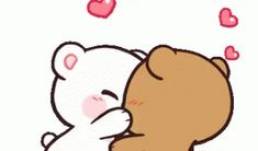 The perfect Love Kiss Kissing Animated GIF for your conversation. Discover and Share the best GIFs on Tenor. Cartoon Kiss, Cute Bunny Cartoon, Cute Cartoon Images, Cute Love Images, Cute Love Gif, Cute Love Cartoons, Kiss Animated Gif, Hug Gif, Love Animation Wallpaper