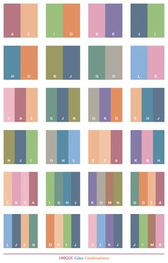 color+schemes | Unique color schemes, color combinations, color palettes.  More Pins