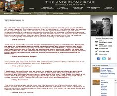 (The Anderson Group: Testimonials)