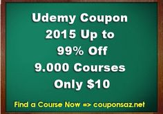 Udemy coupon code get up to 90 discount on courses coupon codes udemy coupon 2015 kick off 2015 with 10 courses udemy new year promotion up to 99 off this is your year take charge in 2015 with one of over 9000 fandeluxe Choice Image
