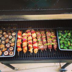 Summer time food is my favorite food! #traegernation #traeger #smokeemifyougotem Reposted Via @mijarrett