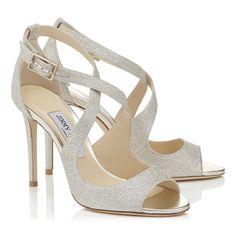 Emily 100. Glitter SandalsLe MariBridal BoutiqueBridal CollectionWedding  ShoesJimmy ChooDress ...
