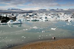 Jokullsarlon IJsland