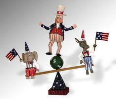 patriotic folk art