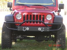 Geo+Tracker+Front+Bumper | Jeep JK - Stubby Front Bumper with Tube Extensions, Fog Lamp Openings ...