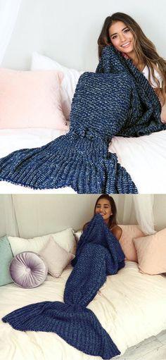 blue mermaid blanket, #gift #mermaid #blanket valentine's day gift for her, mother's day gift, thanksgiving day gift, Christmas gift