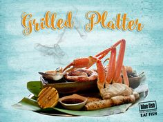 Have you tried Blue Fish's Famous Giant Seafood Platter its a real taste of Australia Best Seafood and great to share with friends & family. Blue Fish Restaurant, New Year Menu, Sydney Restaurants, Seafood Platter, Darling Harbour, Fresh Seafood, Seafood Bake