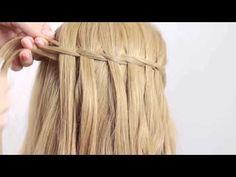 Trenza Cascada Paso a Paso | Waterfall Braid ♥ Hairfeed - YouTube