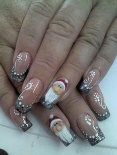 Santa Nail Art ...