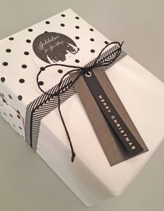Christmas gift wrapping by Nina Th. Oppedal, Norway.