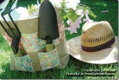 Free Quilting Pattern :: Gardener's Tote Bag