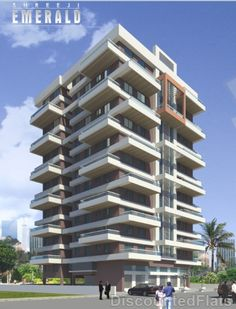 For sunny balconies for all suites Futuristic Architecture, Facade Architecture, Residential Architecture, Amazing Architecture, Contemporary Architecture, Building Elevation, Building Facade, Building Design, Condo Design