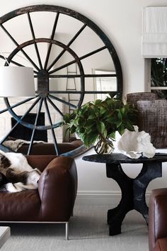 Neutral tones and a considered layering of styles and materials gives this Sydney home exquisite texture. Sydney, was one of Interior Desiger inspiration. Decor Interior Design, Interior Decorating, Winter Living Room, Masculine Interior, Vogue Living, Country Style Homes, Luxury Homes Interior, Minimalist Interior, Contemporary Furniture