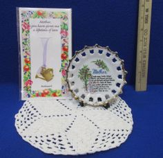 Vintage ceramic Mother's Day collectible plate