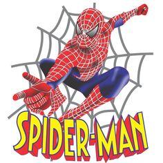 Estampa para camiseta Homem Aranha 001615