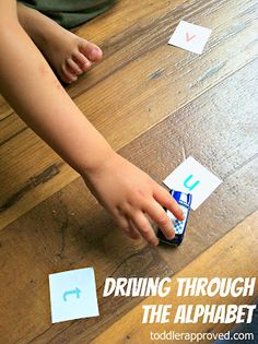 Toddler Approved!: Driving (and Riding) Through The Alphabet
