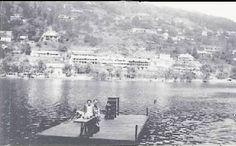 The swimming raft off Smuggler's Rock taken by Michael Smith in (Peter Smith©) Peter Smith, Jim Corbett, Nainital, Hill Station, Back Gardens, Rafting, Kenya, New York Skyline