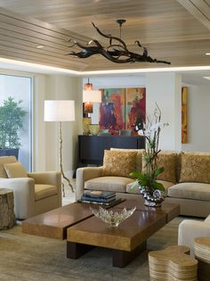 Contemporary Living Room Photo - Lonny