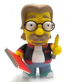 "Toy145 "" Matt Groening"" by Matt Groening / Simpsons Series for Kid Robot (2012) #Toy"