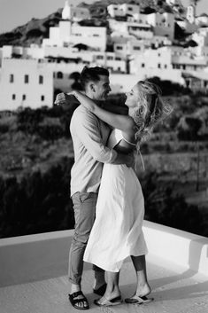 Ios Lovers – True Engagement Lovestory of Emily & Jonathan We Get Married, Getting Married, Live Music Bar, European Summer, Real Couples, Greeks, Wedding Website, Destination Weddings, Engagement Shoots