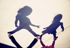 Sister shadow #photography #photo #photograph