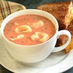 Creamy Tomato Tortellini Soup Recipe | Nestle Meals.com
