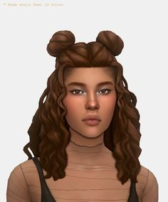 """"""" a super casual hair based on how i typically wear my own! ∴ comes in both the ea palette and the modified maxis. Sims 4 Cc Packs, Sims 4 Mm Cc, Maxis, Sims 4 Stories, Sims 4 Characters, Sims Hair, Sims 4 Cas, Face Mist, Sims 4 Cc Finds"""
