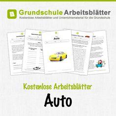 Kostenlose Arbeitsblätter und Unterrichtsmaterial für den Sachunterricht zum Thema Auto in der Grundschule.