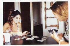 Playing cards before heading back to daily routine in Buenos Aires. Pinamar, circa 2012.