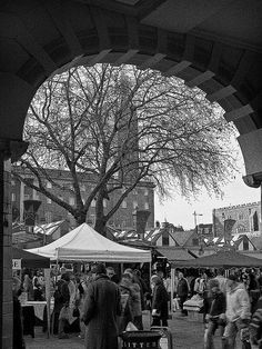 Norwich Market, England by Gerry Balding.