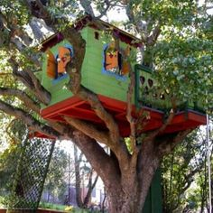 Kid's treehouse