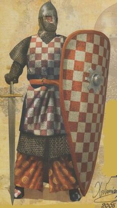 He looks battle ready. Medieval Knight, Medieval Armor, Medieval Fantasy, Knight In Shining Armor, Knight Armor, Norman Knight, Good Knight, Knights Templar, Anglo Saxon