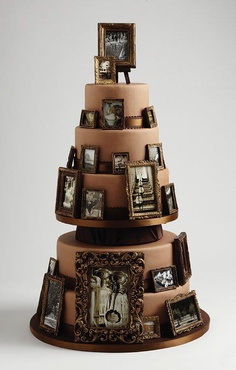 Cake With Photo Frame : 1000+ images about frame / cadre cake on Pinterest