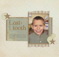 Layout: Lost: 1 Tooth