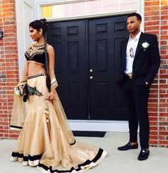 Indian-themed Prom Dress