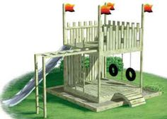 Image detail for -things/stunts on a cool looking jungle gym or a play fort ?