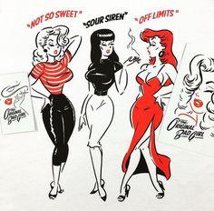 35 trendy tattoo ideas female inspiration pin up Vintage Cartoon, Vintage Comics, Cartoon Art, Vintage Art, Vintage Pins, Girl Cartoon, Kida Disney, Tatuagem Pin Up, Dibujos Pin Up