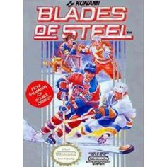 Retro Blades of Steel Game Poster//NES Game Poster//Video Game Poster//Vintage Game Cover Reprint Super Nintendo, Nintendo 64, Nintendo Games, Arcade Games, Pc Games, Vintage Video Games, Retro Video Games, Vintage Games, Retro Games