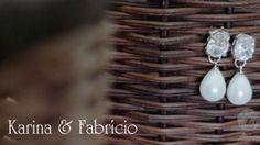 Ao simpático e animadíssimo casal Karina e Fabrício agradecemos a oportunidade de registrar este lindo casamento, repleto de felicidade, que tornou esta noite super especial !!! Beijos da equipe EVF Movie Art !!! Filmagem: EVF Movie Art Edição: Claudia Friões e Cristiano Mazzoleni Fotografia: Léo Armstrong e Allan Costa Maquiagem e Cabelo: Anderson Vieira Cerimônia: Paróquia de Sant'Ana – Campo Grande – RJ Recepção: Casa de Festas Joshua – Campo Grande – RJ