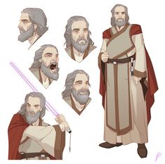"""From personal Star wars comic book project """"Knights of the old Republic - The Civil War"""""""