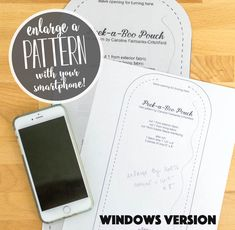 Sewing Tips For Beginners How to Enlarge a Pattern Using Your Smartphone and Computer (Windows version) — SewCanShe Sewing Patterns Free, Free Sewing, Craft Patterns, Lace Patterns, Quilt Tutorials, Sewing Tutorials, Sewing Hacks, Sewing Tips, Sewing Ideas