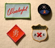 Best Made Patches.