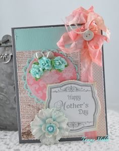 Mother's Day Card designed by Tammy Hobbs @ Creating Somewhere Under The sun.