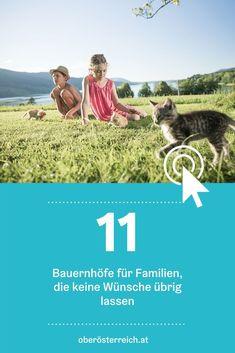 Urlaub am Bauernhof? Wir haben für dich die schönsten Höfe in Oberösterreich gesammelt. #urlaubinösterreich #österreich #urlaubambauernhof #familienurlaub #urlaubmitkindern Movies, Movie Posters, Hotels For Kids, Films, Film Poster, Cinema, Movie, Film, Movie Quotes