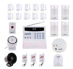 http://stores.ebay.com/RAFUnlimited Wireless Home Security Alarm System Outdoor Siren Smoke Detector Glass Breakage
