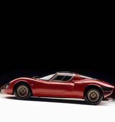 1967 Italia - Alfa Romeo Milano - 33 Stradale designer Franco Scaglione