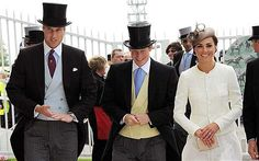 Epsom Derby Day: a royal occasion...three great hats!
